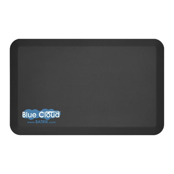 "Blue-Cloud Nimbus Anti-Fatigue Mat Black 20"" x 32"""