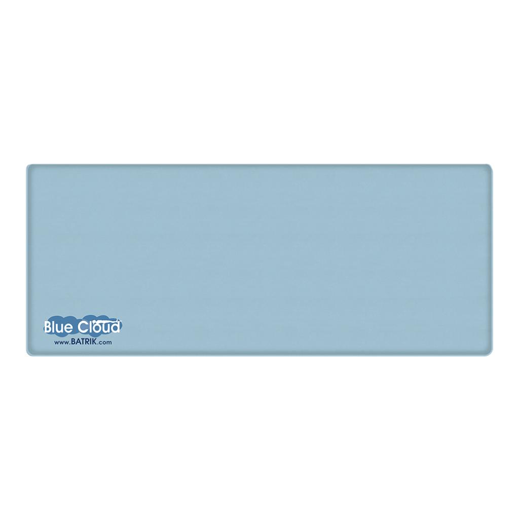 "Blue-Cloud Gel Anti-Fatigue Mat 30"" x 72"""