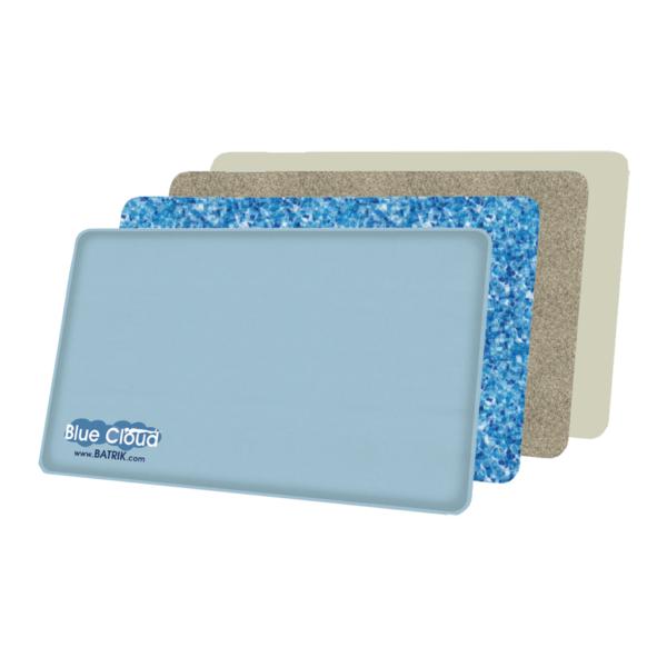 Blue-Cloud Gel Anti-Fatigue Mat layers