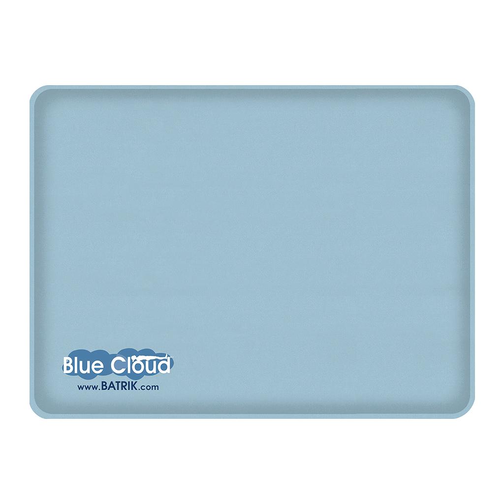 "Blue-Cloud Gel Anti-Fatigue Mat 18"" x 24"""