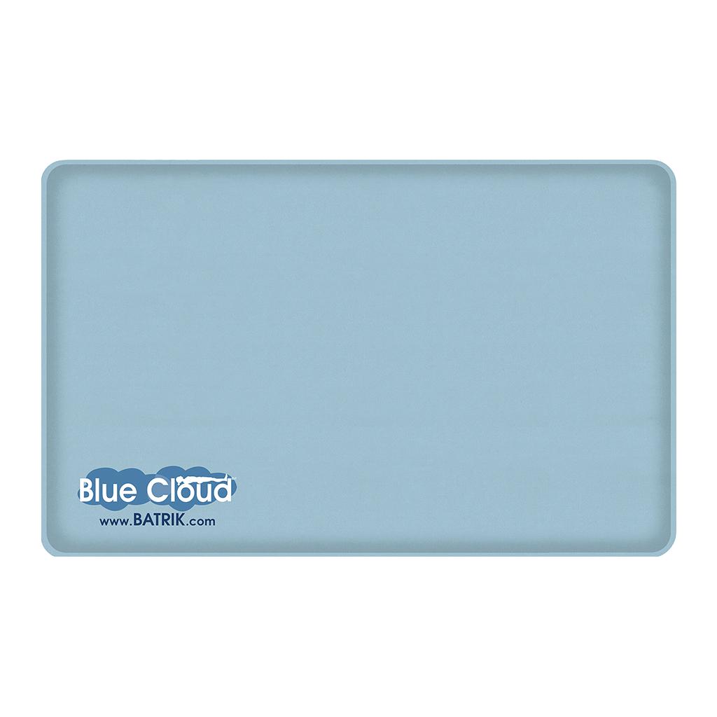 "Blue-Cloud Gel Anti-Fatigue Mat 20"" x 32"""
