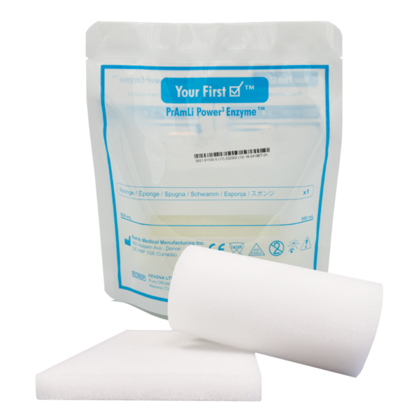 PrAmLi Power3 Enzymes Bedside Sponge Kit