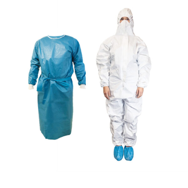 Gowns, Coveralls & Shoe Covers
