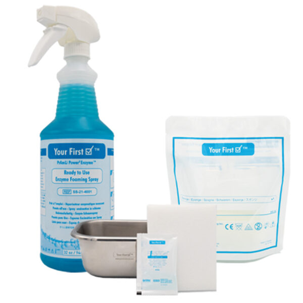 Your First Check Pre-Cleaning Solutions & Sponges
